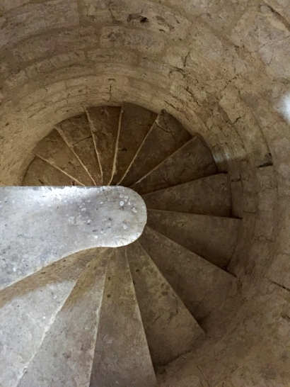Pigeonnier staircase